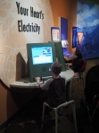 Expedition Health is one of their favorite exhibits at the Museum of Nature and Science.