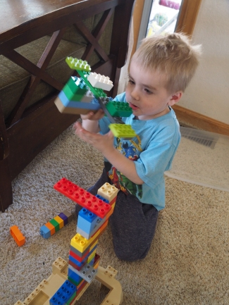 Day 38 - DUPLO Spaceships