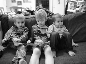 Day 50 - Big brother storytime