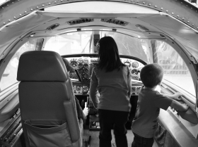 Day 51 - Airplane cockpit