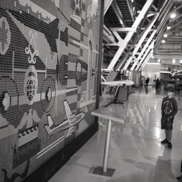 Aviation mosaic