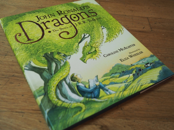 I continued reading The Lord of the Rings to the big kids - we blasted through five great chapters this day - and I also read this fantastic picture book biography of Tolkien to all the kids. They quite enjoyed it.