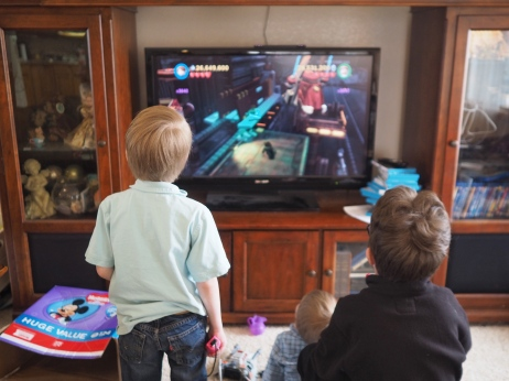 They enjoy video games. Particularly LEGO Video games and all the problem solving and action they involve.