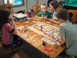 It's the kids version and they love it. It probablt won't be long before they move up to the full version.