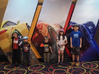 My kids really like the Cars movies, so I took them to Cars 3 today. I actually liked it more than the previous two (though that isn't saying much) and the kids absolutely loved it.