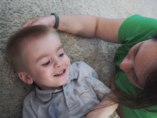 Day 197 - A Boy and His Mommy