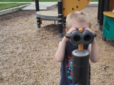 Binoculars!