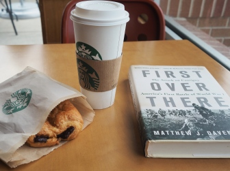 I got to head to the coffee shop by myself for a while this morning, it was a nice treat.