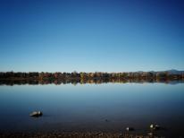 The Lake in Fall