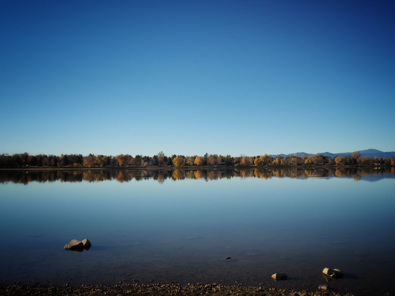 The Lake in Fall