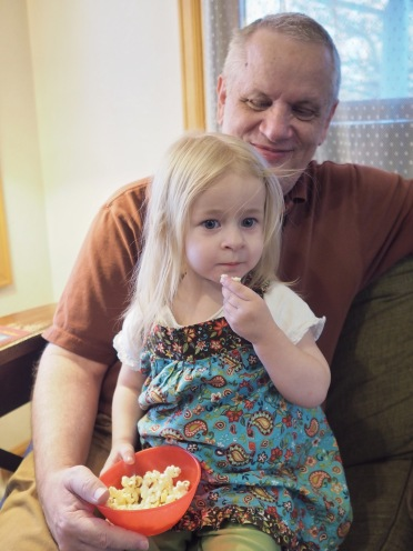 Day 330 - Popcorn with Papa
